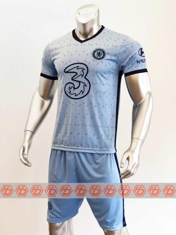 Quần áo bóng đá Chelsea màu Xanh Biển mùa giải 20-21