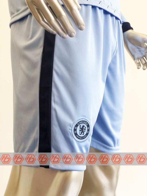 Quần áo bóng đá Chelsea màu Xanh Biển Tay dài mùa giải 20-21
