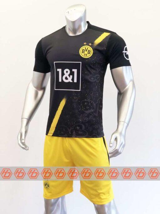 Quần áo bóng đá DORTMUND màu Đen mùa giải 20-21