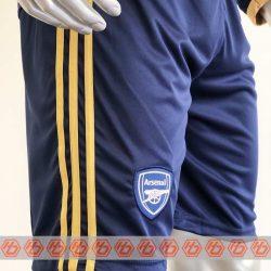 Quần áo bóng đá Tay dài Arsenal màu Xanh mùa giải 20-21