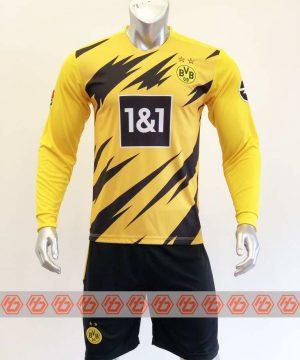 Quần áo bóng đá Tay dài DORTMUND màu Vàng mùa giải 20-21
