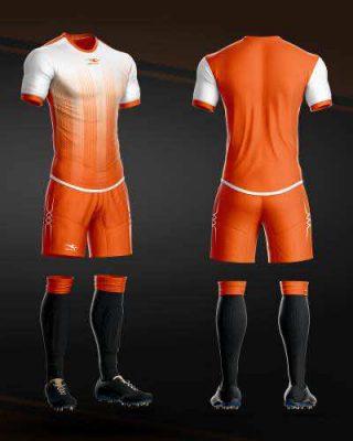 Áo bóng đá không logo thiết kế cao cấp KEEP & FLY HERIZON màu Tím