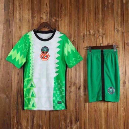 Áo đấu Đội Tuyển Nigeria hàng Thái cao cấp màu Xanh 2020