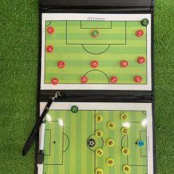 Bảng sơ đồ chiến thuật bóng đá CIMA gập dành cho huấn luyện viên