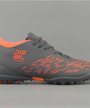 Giày đá banh Đế đinh TF JGBL - Jogarbola 190424B Sân cỏ nhân tạo màu Xám Phối Cam mới