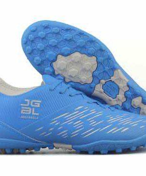 Giày đá banh Đế đinh TF JGBL - Jogarbola 190424B Sân cỏ nhân tạo màu Xanh Da mới