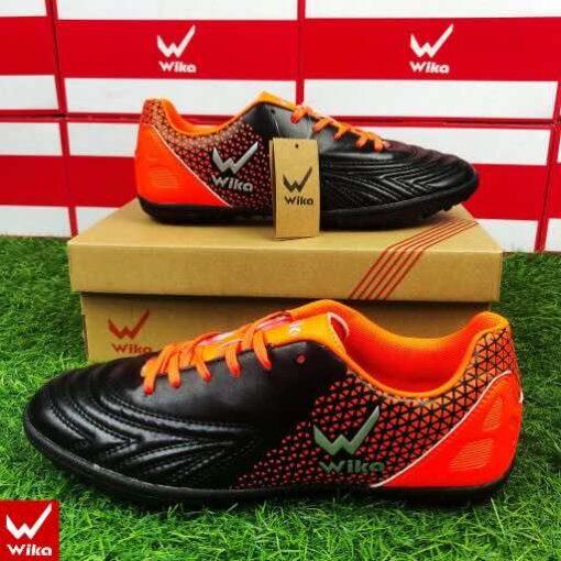 Giày đá banh Đế đinh TF Wika Neo One Sân cỏ nhân tạo màu Xanh Dạ Quang mới