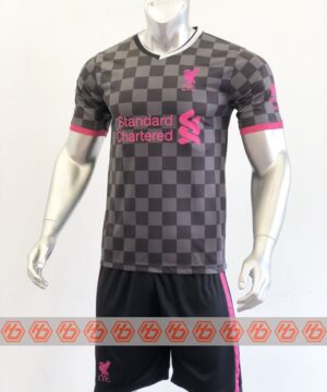 Quần áo bóng đá Liverpool màu Xám mùa giải 20-21