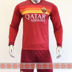 Quần áo bóng đá AS ROMA màu Đỏ đồ mùa giải 20-21