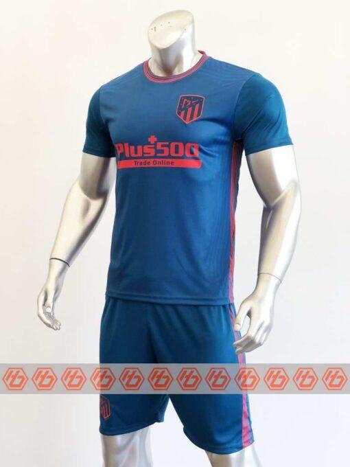 Quần áo bóng đá Atletico Madrid Xanh mùa giải 20-21