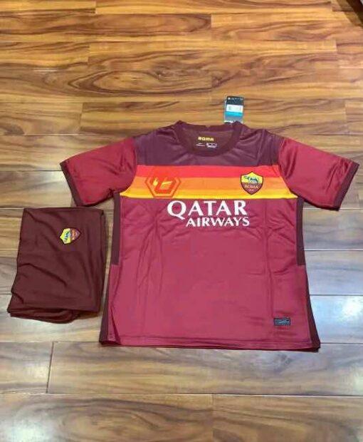 Quần áo bóng đá hàng Thái cao cấp BARCELONA Xanh Sọc Đỏ 2020