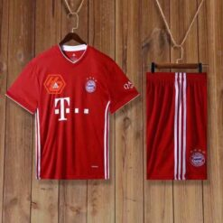Quần áo bóng đá hàng Thái cao cấp Bayern Munich màu Đỏ 2020