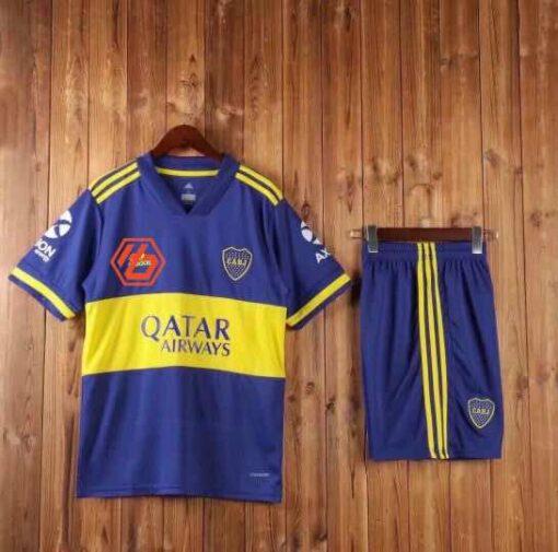 Quần áo bóng đá hàng Thái cao cấp Boca Juniors màu Xanh 2020
