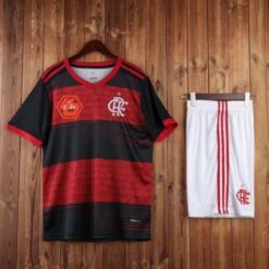 Quần áo bóng đá hàng Thái cao cấp Flamengo màu Đen sọc Đỏ 2020