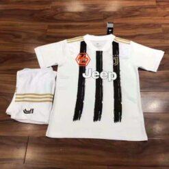 Quần áo bóng đá hàng Thái cao cấp JUVENTUS màu Trắng 2020