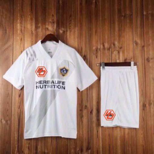 Quần áo bóng đá hàng Thái cao cấp Los Angeles Galaxy màu Trắng 2020