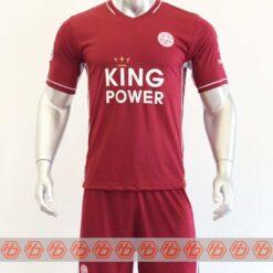 Quần áo bóng đá Leicester màu Đỏ Đô mùa giải 20-21