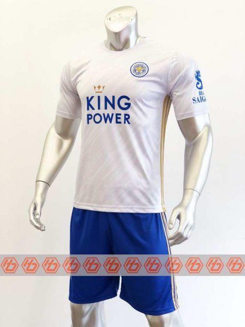 Quần áo bóng đá Leicester màu Trắng mùa giải 20-21
