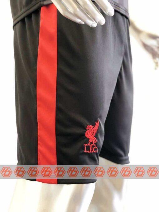 Quần áo bóng đá Liverpool màu Đen mùa giải 20-21