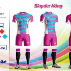 Áo bóng đá không logo cao cấp ND-SLAYDER màu Đỏ