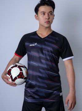 Áo bóng đá không logo thiết kế cao cấp IWIN COOL A03 màu Xanh Bích mới