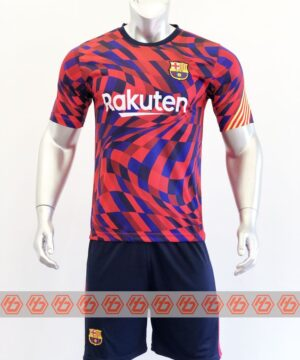 Quần áo bóng đá BARCELONA màu Đỏ mùa giải 20-21