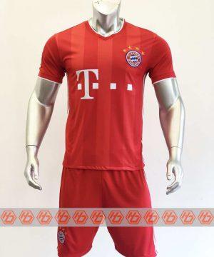 Quần áo bóng đá BAYERN MUNICH màu Đỏ mùa giải 20-21