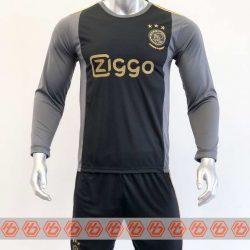 Quần áo bóng đá Tay dài AJAX màu Đen mùa giải 20-21