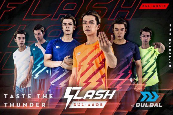 Áo bóng đá không logo cao cấp Bulbal FLASH 6 màu