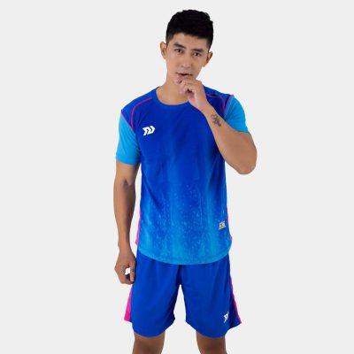 Áo bóng đá không logo thiết kế Bulbal Hades màu xanh bích