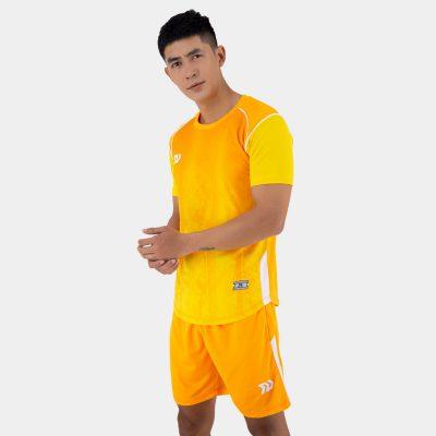 Áo bóng đá không logo thiết kế Bulbal Hades màu vang cam