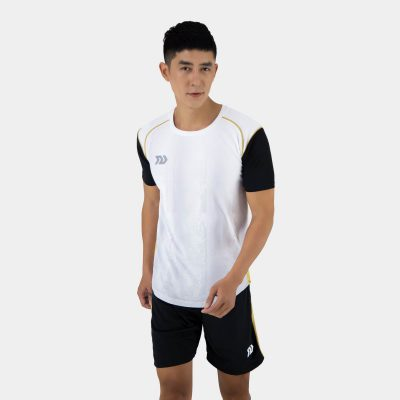 Áo bóng đá không logo thiết kế Bulbal Hades màu trắng