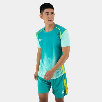 Áo bóng đá không logo thiết kế Bulbal Hades màu xanh lý