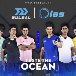 Áo bóng đá không logo thiết kế Bulbal Olas cao cấp