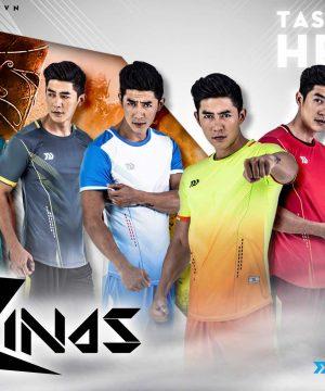 Áo bóng đá không logo thiết kế Bulbal Zinas 6 màu