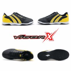 Giày đá banh Đế bằng IC PAN VIGOR X 5 Sân cỏ nhân tạo màu mới - Xanh Bích