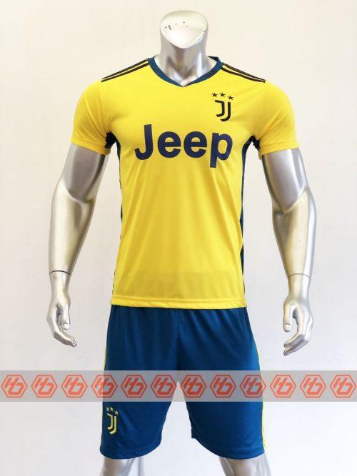 Quần áo bóng đá Juventus màu Vàng mùa giải 20-21