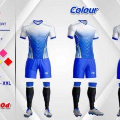 Áo bóng đá không logo ND-COLOUR nhiều màu