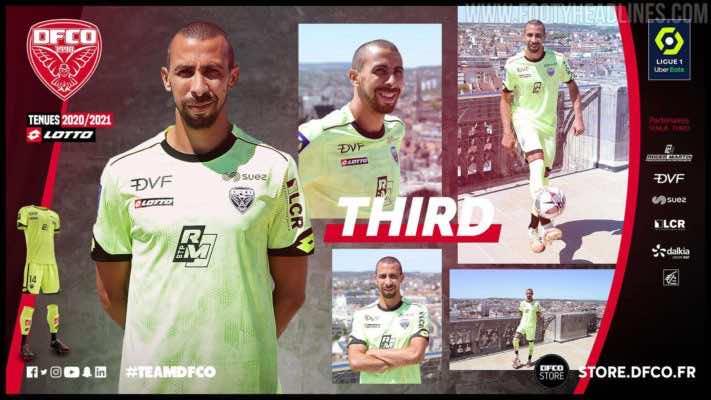 Bộ đồ bóng đá thủ môn Dijon 2020-21