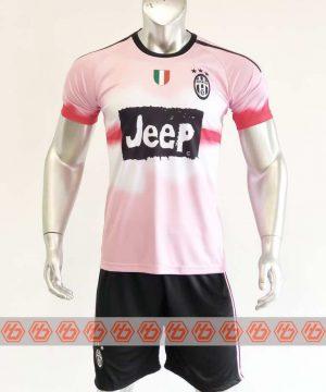 Quần áo bóng đá Juventus màu Hồng mùa giải 20-21