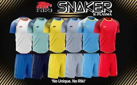 Áo bóng đá không logo cao cấp RIKI SNAKER thun lạnh 6 màu