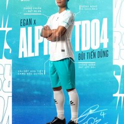 Áo bóng đá không logo Egan Alpha-TD04 vải mè cao cấp 6 màu