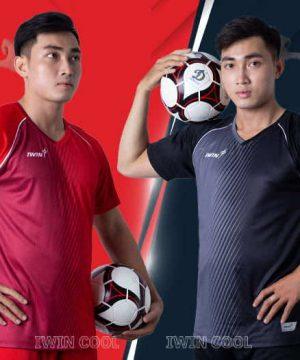 Áo bóng đá không logo IWIN COOL CHALLENGE vải mè cao cấp 3 màu mới