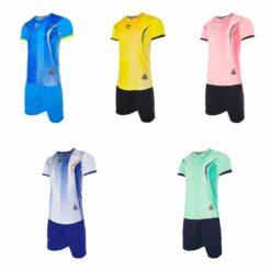 Áo bóng đá không logo thiết kế VH SPARK 5 màu