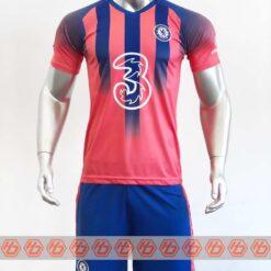 Quần áo bóng đá Chelsea màu Đỏ Cam mùa giải 20-21