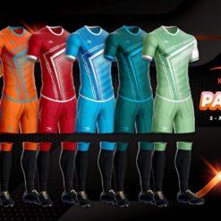 Áo bóng đá không logo thiết kế cao cấp KEEP&FLY - PANZER 6 màu cao cấp