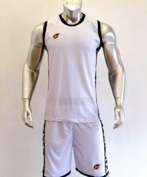 Áo bóng rổ CAMO màu TRẮNG