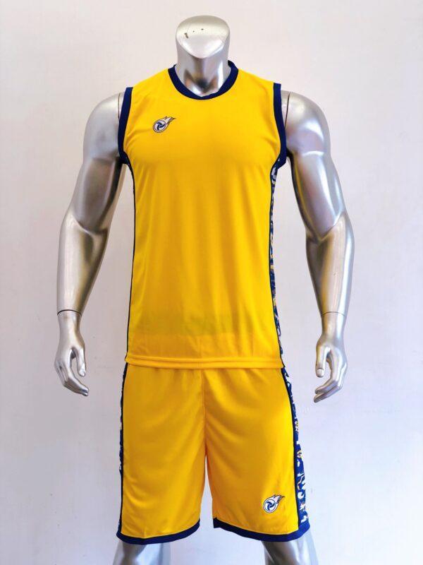 Áo bóng rổ CAMO màu Vàng