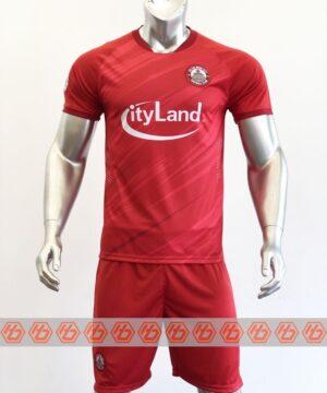 Quần áo đá banh CLB Hồ Chí Minh màu Đỏ mùa giải 21-22