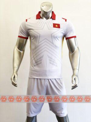 Áo đấu đội tuyển Việt Nam sân khách màu trắng 21-22